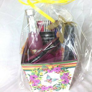 Relaxing Gift Box Bag With Bubble Baths Fizzing
